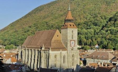 Biserica Neagră din Brașov, în topul celor mai vizitate biserici fortificate săsești din România