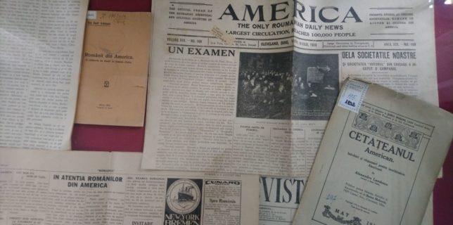 Bistriţa-Năsăud: Fenomenul emigrării românilor în America la începutul secolului XX, analizat într-o expoziţie documentară