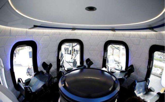 Blue Origin va trimite pentru prima dată oameni în spaţiu pe 20 iulie