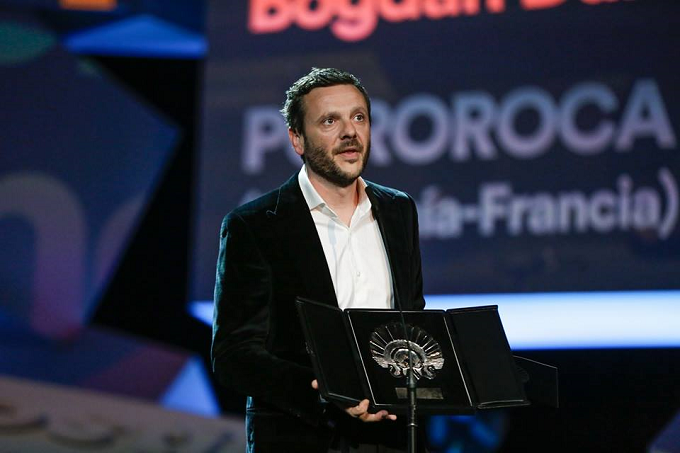 "VIDEO: Bogdan Dumitrache, premiul ""cel mai bun actor"" pentru filmul ""Pororoca""-San Sebastián 2017"