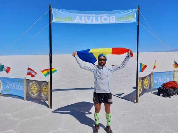 Botoşani: Pompierul Iulian Rotariu a stabilit un nou record la ''Ultra Bolivia Race''