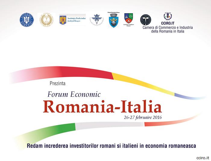 CCIRO Italia: Redăm încrederea investitorilor români și italieni în economia românească