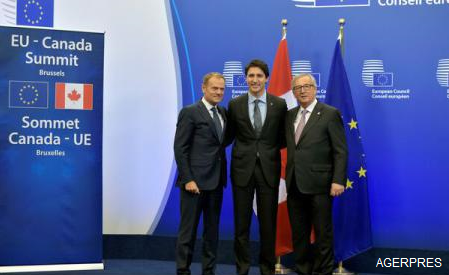 CETA: UE și Canada au semnat Acordul de liber schimb