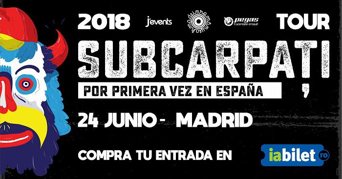 CONCERT Subcarpați: Pentru prima dată în SPANIA, la Madrid. Vezi detalii bilete