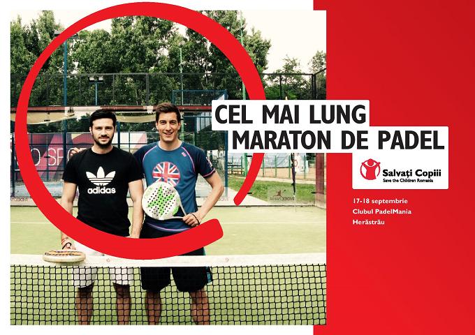 Campanie DONAȚII: Patru români vor intra în Cartea Recordurilor pentru cel mai lung maraton de padel