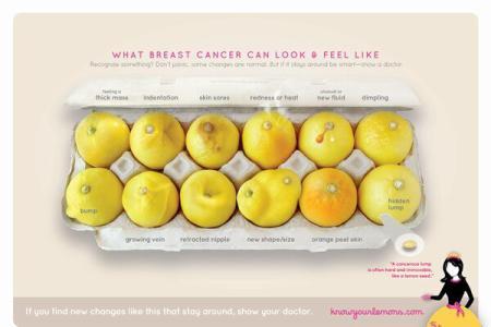 Campanie de conștientizare a simptomelor cancerului de sân, devenită virală