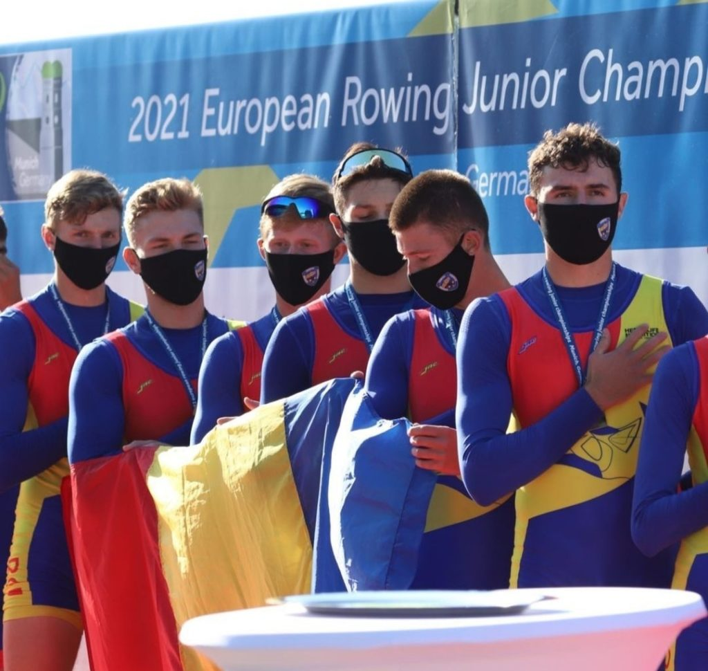 Canotaj: Cinci medalii de aur şi una de argint pentru România la Europenele de juniori