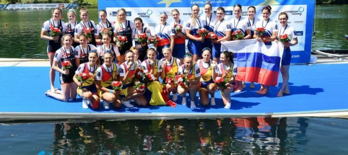 Canotaj: O medalie de aur şi una de bronz pentru România, la Cupa Mondială de la Rotterdam