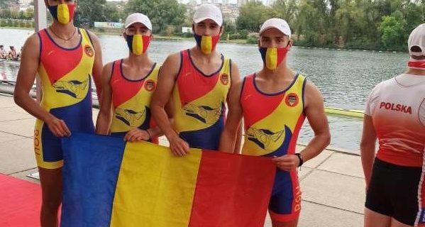 Canotaj: România a cucerit şapte medalii la Europenele de juniori de la Belgrad