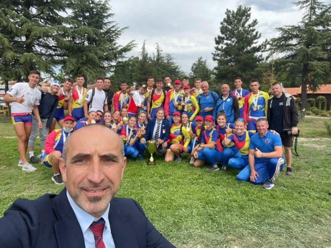 Canotaj: România a cucerit 19 medalii la Campionatele Balcanice din Macedonia de Nord