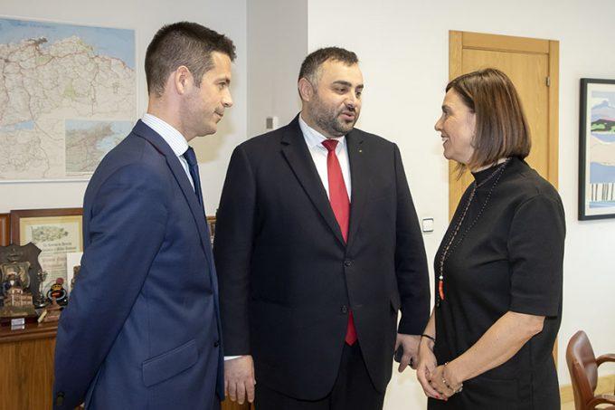 Cantabria y Rumanía acuerdan colaborar en la creación de un foro empresarial