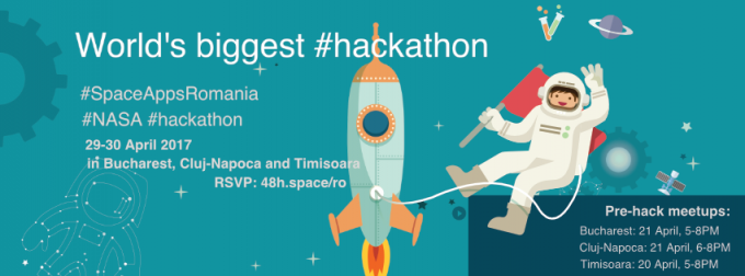 Cel mai mare hackathon NASA la nivel mondial, organizat simultan și în trei orașe din România