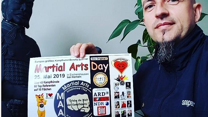 Claudiu Mihăilă, nominalizat la cel mai mare Eveniment de Arte Marțiale din Europa