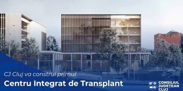Cluj: Construirea primului Centru Integrat de Transplant din România şi din SE Europei a trecut de prima fază