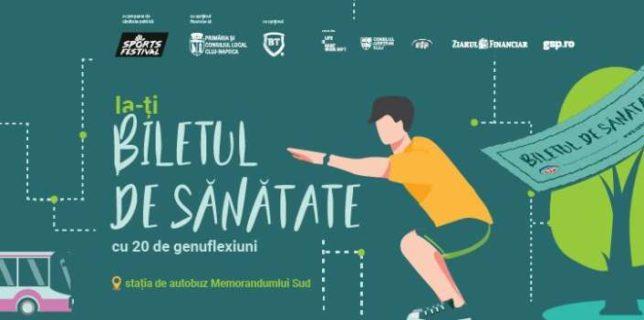 Cluj: Prima staţie de sport smart din ţară; bilet gratuit de autobuz pentru 20 de genuflexiuni