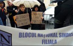 Cod Fiscal: Blocul Național Sindical anunță continuarea protestelor la nivel național, până pe 15 noiembrie