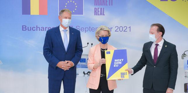 Comisia Europeană a aprobat Planul de Redresare şi Rezilienţă al României, în valoare de 29,2 miliarde euro
