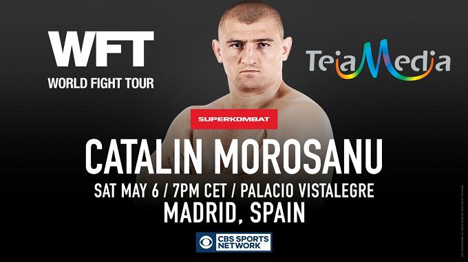 Compra Tu Ticket: 6 de Mayo, Gala Superkombat World Grand Prix en Madrid, Palacio Vistalegre