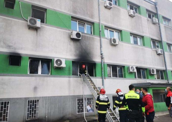Constanţa: Incendiu la Secţia ATI a Spitalului de Boli Infecţioase; a fost activat Planul roşu de intervenţie