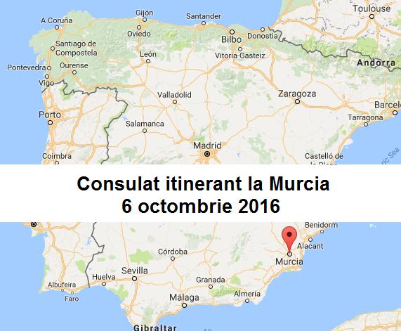 Consulat itinerant la Murcia
