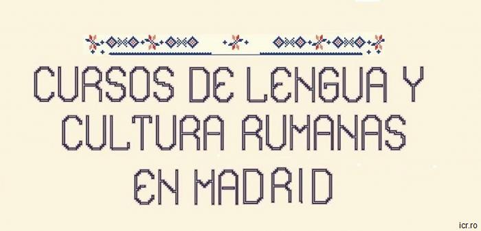 Cursos de lengua rumana en Madrid, de febrero a mayo de 2016