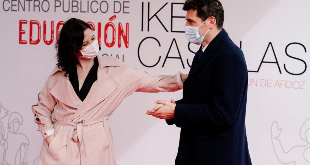 Díaz Ayuso presenta con Casillas el centro público de Educación Especial en Torrejón de Ardoz