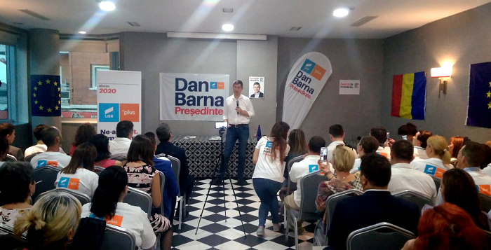 Dan Barna, candidatul USR-PLUS la alegerile prezidențiale a avut o întâlnire cu românii de la Madrid
