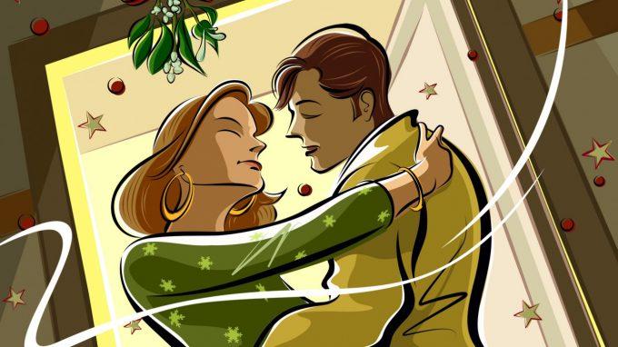 De ce se sărută oamenii sub vâsc? Descoperă legenda vâscului