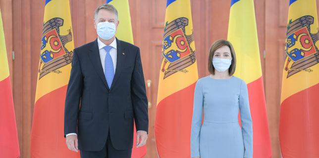 Declaraţie comună a preşedinţilor Iohannis şi Sandu: România - cel mai sincer susţinător al cetăţenilor Republicii Moldova