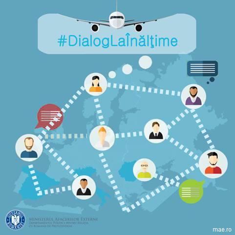 Departamentul Politici pentru Relația cu Românii de Pretutindeni lansează campania #DialogLaÎnălțime