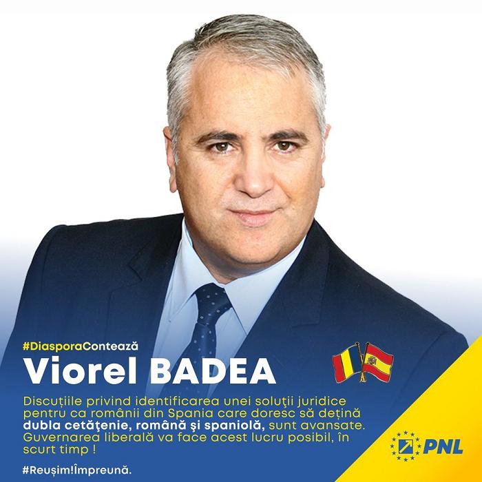 DiasporaContează Mesaj pentru Românii din Spania de la senatorul Viorel Badea președintele PNL Diaspora-1