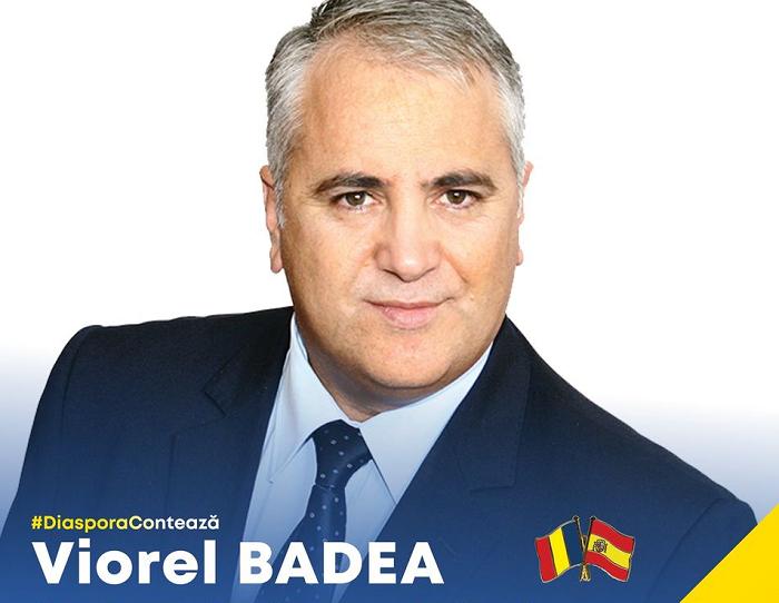 DiasporaContează Mesaj pentru Românii din Spania de la senatorul Viorel Badea președintele PNL Diaspora