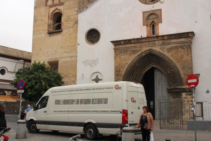 """Din partea României """"Ambulanța pentru patrimoniu"""" a ajuns în Spania"""