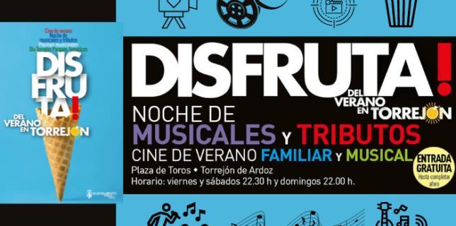 Disfruta del Verano en Torrejón Cine de Verano Piscinas Municipales Parques Temáticos