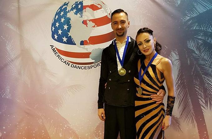 Doi dansatori români, campioni mondiali la Campionatul Mondial de Dans Sportiv din Miami, SUA