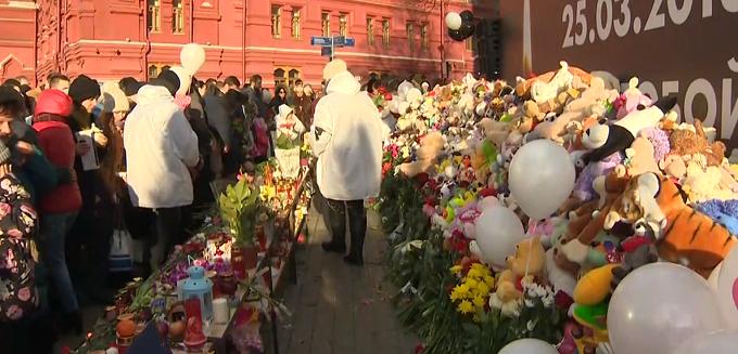 VIDEO: Doliu naţional în Rusia după incendiul de la centrul comercial din Siberia
