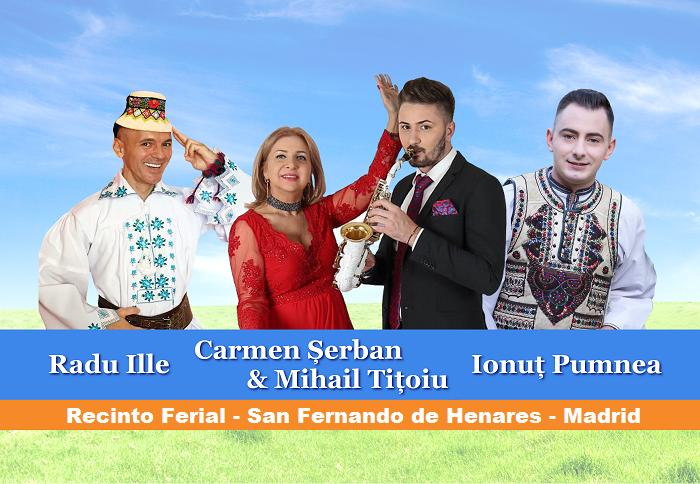 """Domingo 5 de Mayo - Festival """"Tesoro Rumano"""" - San Fernando de Henares, Madrid"""