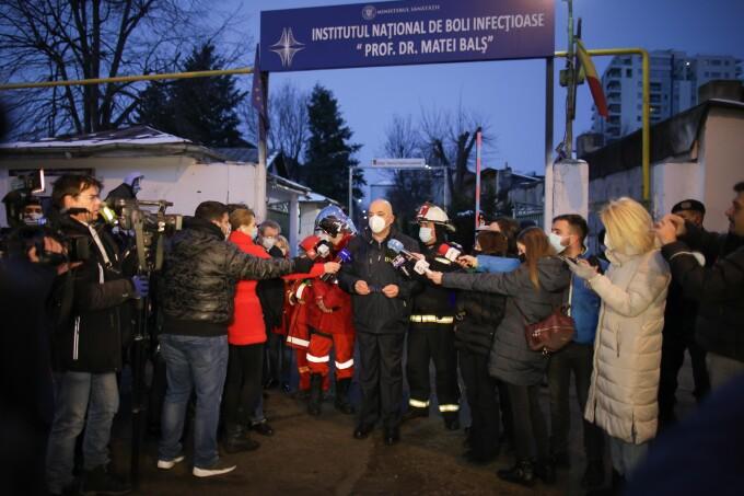 Dosar penal pentru ucidere din culpă în cazul incendiului de la Institutul Matei Balş
