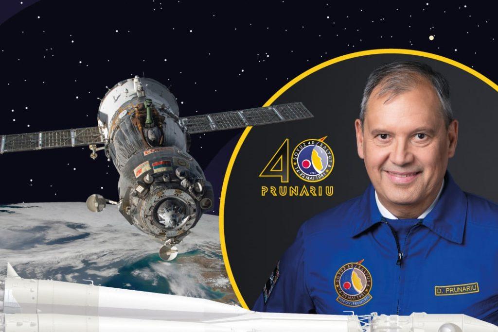 Dumitru-Dorin Simion Prunariu este primul şi singurul român care a zburat în spaţiul cosmic