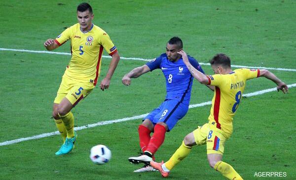 EURO 2016: România, aproape de un rezultat mare în fața Franței, scor final ROMÂNIA - FRANȚA 1-2