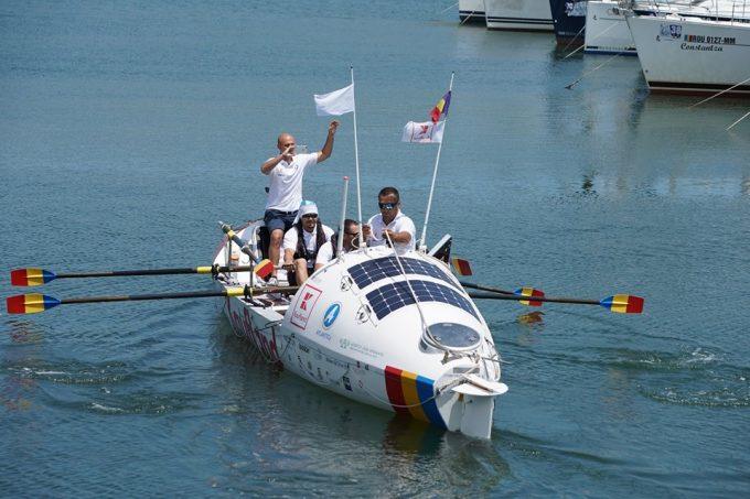 Echipa românească Atlantic4 a stabilit un nou record mondial de traversare a Oceanului Atlantic