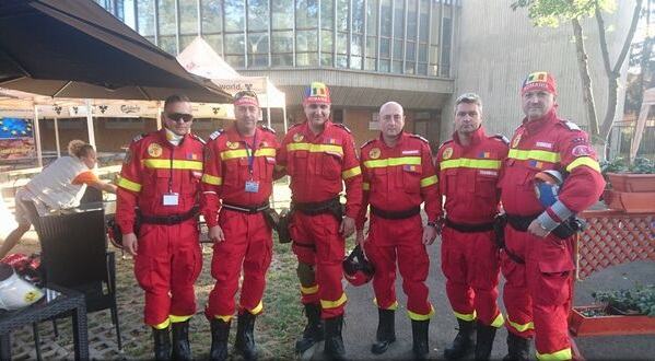 Echipajul ISU Mureș a deschis Competiția Mondială de Descarcerare, la proba complexă