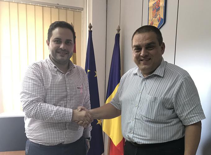 El Ayuntamiento de Castellón y el Consulado de Rumanía potencian la colaboración institucional