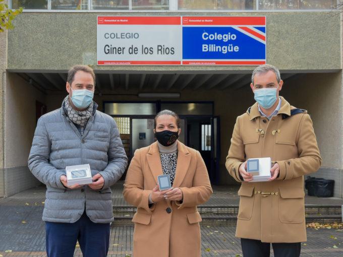 El Ayuntamiento de Torrejón de Ardoz entrega medidores de CO2 a los colegios públicos para controlar la calidad del aire