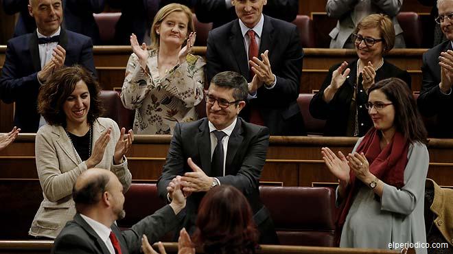El Congreso escenifica el inicio de una nueva era política en España