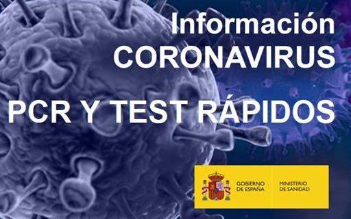 El Gobierno distribuye un millón más de test rápidos de detección de anticuerpos para diagnosticar de forma precoz el COVID-1