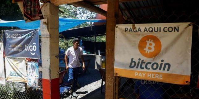 El Salvador, prima ţară din lune care a adoptat oficial bitcoin ca mijloc legal de plată