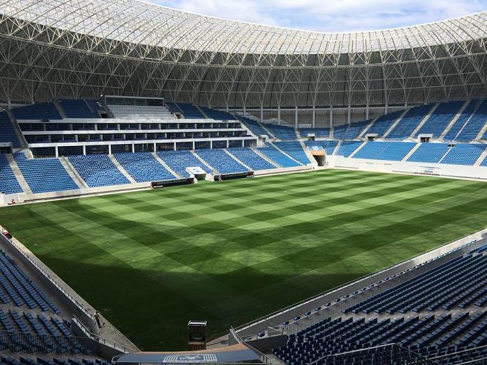 El estadio Ion Oblemenco de Craiova (Rumanía) dispone de un sistema de seguridad de vídeo integrado que incluye 211 cámaras