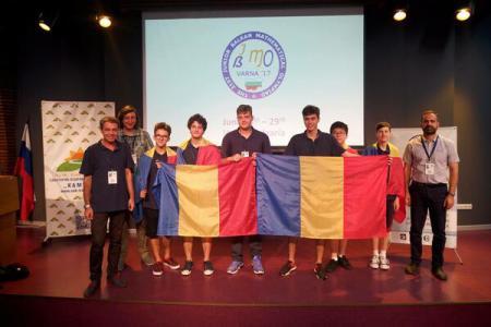 Elevii români au obținut șase medalii și locul I pe națiuni la Balcaniada de Matematică pentru Juniori