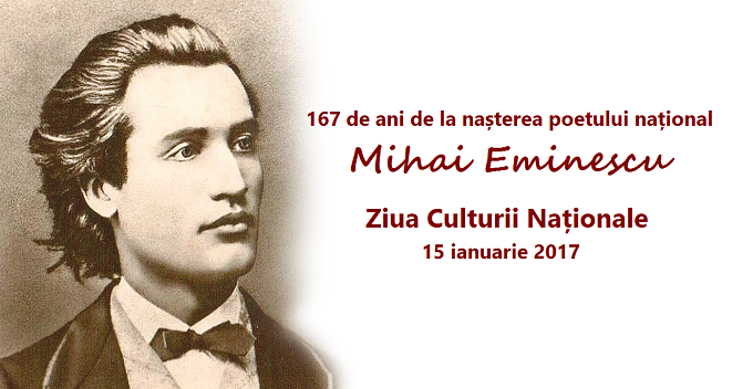 Eminescu - 15 ian. Ziua Culturii Naționale, celebrată în rețeaua reprezentanțelor ICR din străinătate